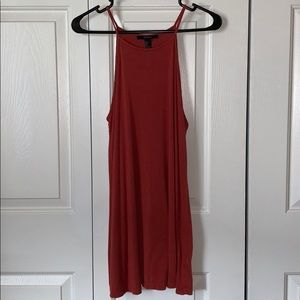 🌻Forever 21 burnt orange tank top dress. S